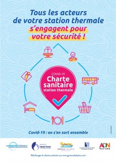 Charte sanitaire station thermale Gréoux