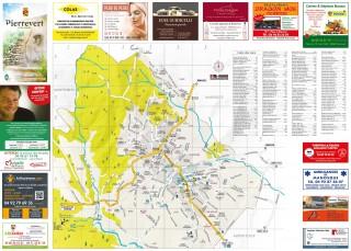 Plan de la commune de Pierrevert