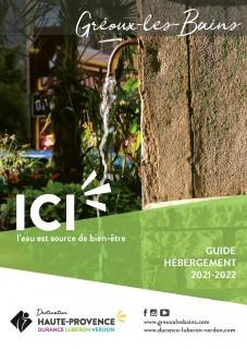 Guide hébergement Gréoux-les-Bains 2021