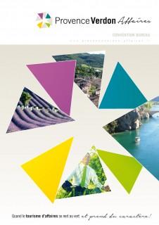 Brochure Provence Verdon Affaires