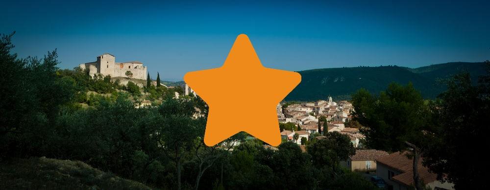 Les meublés 1 étoile à Gréoux les Bains