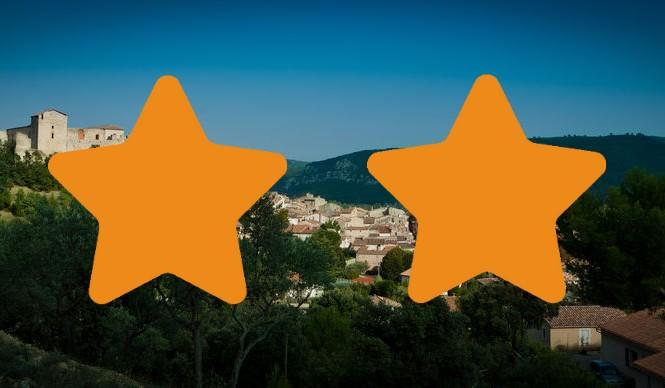 Les meublés 2 étoiles  à Gréoux les Bains