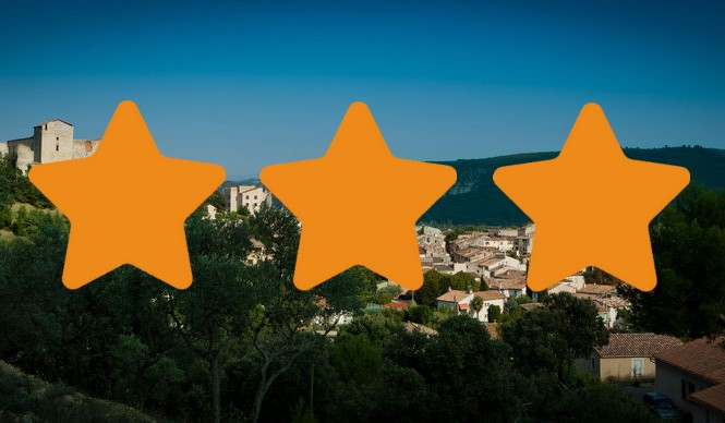 Les meublés 3 étoiles à Gréoux les Bains