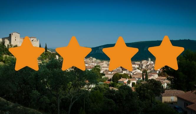 Les meublés 4 étoiles à Gréoux les Bains