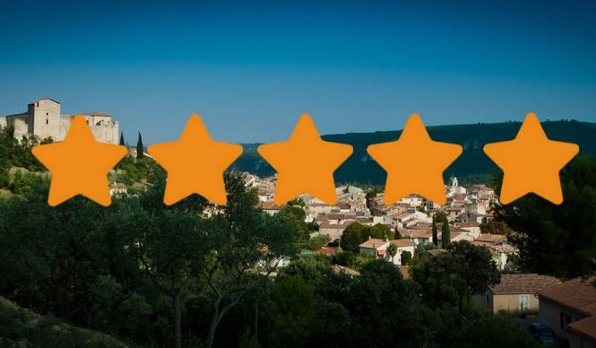Les meublés 5 étoiles à Gréoux les Bains
