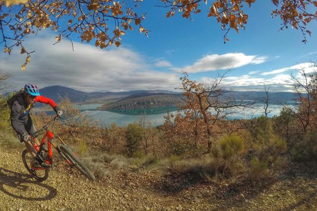 Mountain bike site