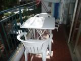 balcon avec espace repas