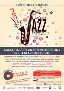 Gréoux Jazz Festival 7ème édition