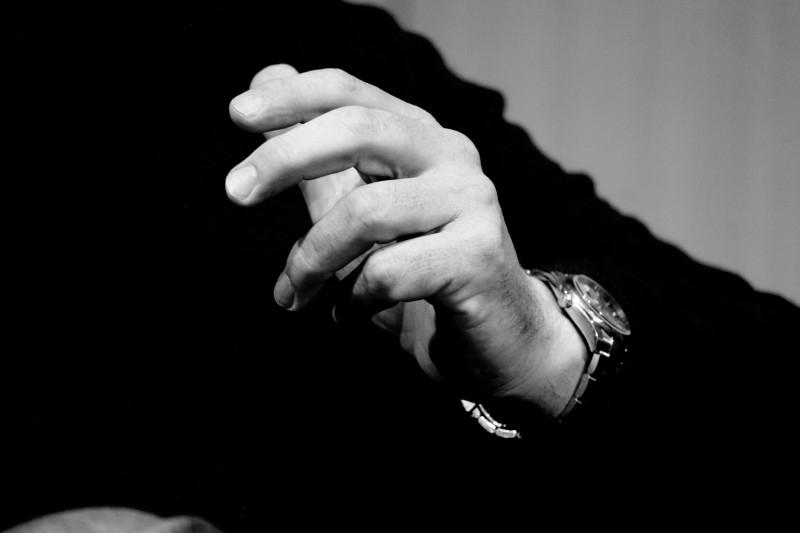 Mains d'Alexandre Jardin