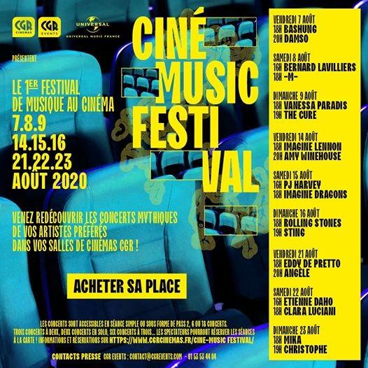 Cinémusic festival