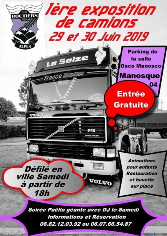 Exposition de camions