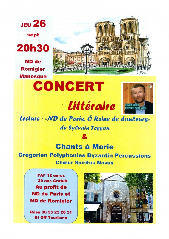 Concert littéraire