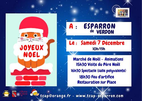 Fête de Noël à Esparon-de-Verdon